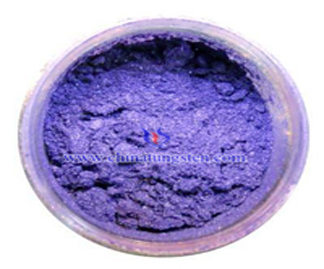 Violet Tungsten Oxide Picture